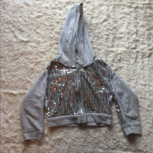 Justice Girls Sequin Sweatshirt